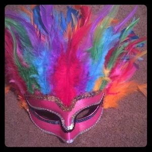 Accessories - Feather mask